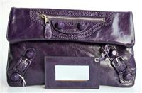 balenciaga bags envelop 084351 in deep purple